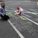 Teacher Appreciation Chalk Art photo album thumbnail 1