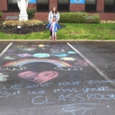 Teacher Appreciation Chalk Art photo album thumbnail 6